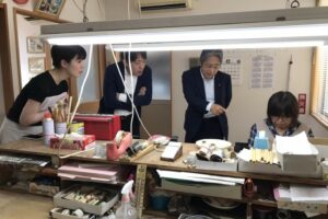 熊野筆 工場見学