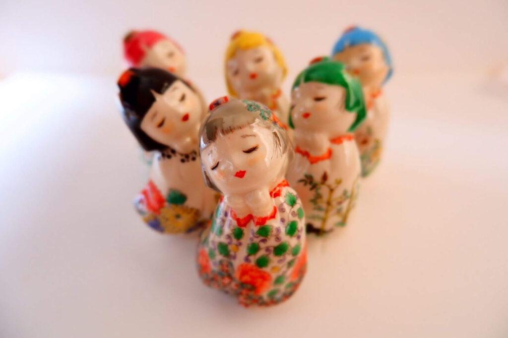 博多人形師の高野幸博氏とのコラボ
